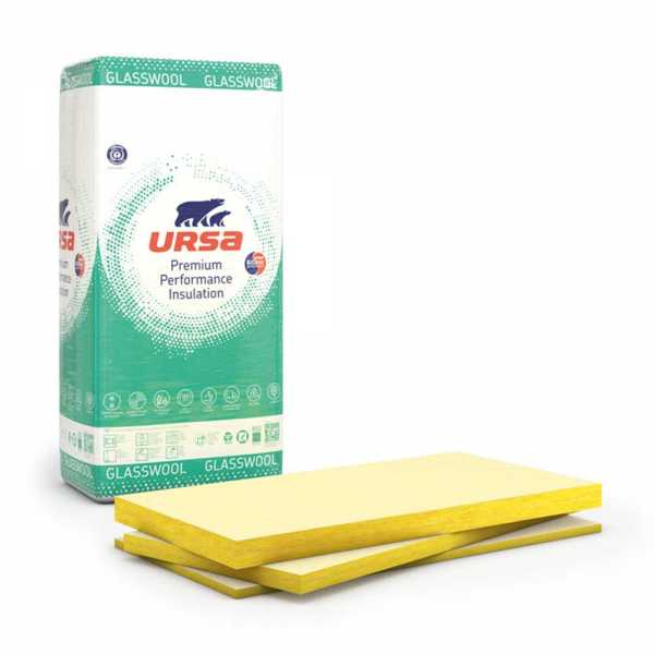 URSA FDP 3/Vr szigetelőanyag - 10cm (600 x 1400 x 100 mm)